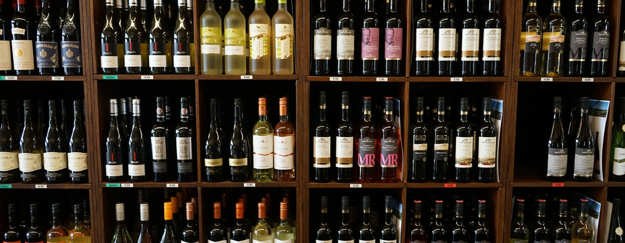 Unser vielfältiges Weinangebot